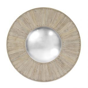 BARRIQUE MIRROR - WASHED ACACIA